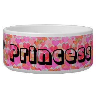 Écuelle Bol d'aliment pour bébé de princesse Hearts Fur
