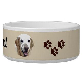 Écuelle Cuvette de alimentation de chien de Labrador
