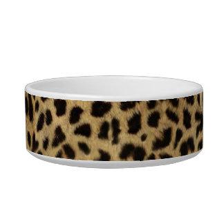 Écuelle empreinte de léopard tribal d'animal de safari de