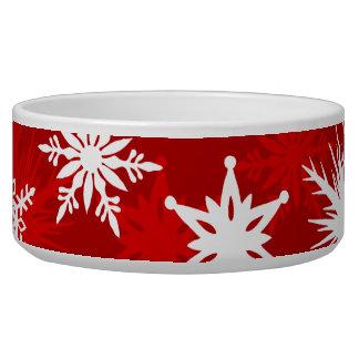Écuelle Flocons de neige de fête de Noël