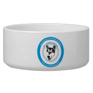 Écuelle Grande cuvette de chien de logo