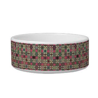Écuelle Motif coloré vintage décoratif avec le patchwork