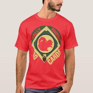 Écureuil de rassemblement de cardinaux t-shirt