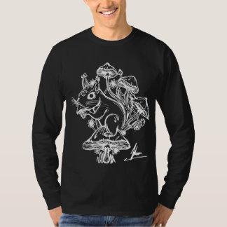 Écureuil Longsleeve noir T-shirt