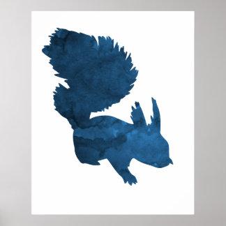 Écureuil Poster