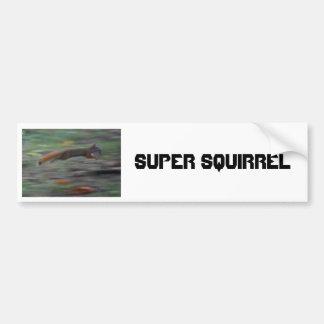 ÉCUREUIL SUPERBE ! ! ! ! AUTOCOLLANT POUR VOITURE