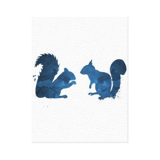 Écureuils Toile