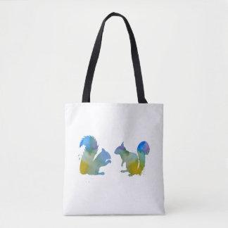 Écureuils Tote Bag