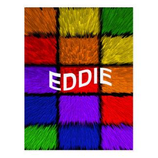 EDDIE CARTE POSTALE