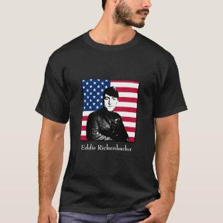 Eddie Rickenbacker et le drapeau américain T-shirt