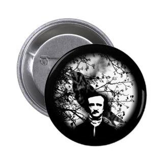Edgar Allan Poe 'le Raven Badge
