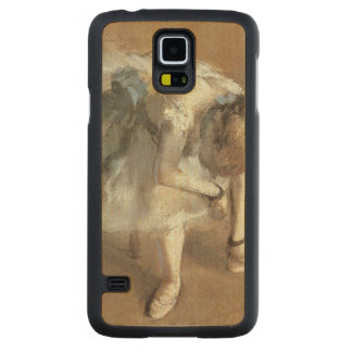 Edgar Degas | attendant, c.1882 Coque Slim Galaxy S5 En Érable