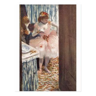 Edgar Degas - danseur dans sa ballerine 1879 de bo