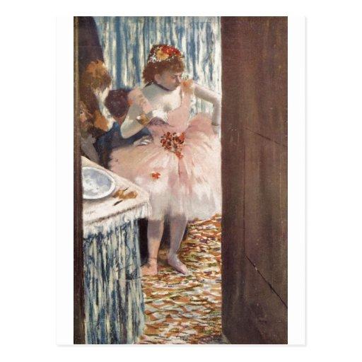 Edgar Degas - danseur dans sa ballerine 1879 de bo Carte Postale