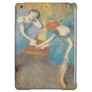 Edgar Degas | deux danseurs au repos, danseurs