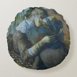 Edgar Degas | deux femmes Coussins Ronds