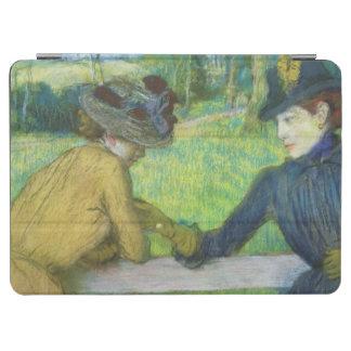 Edgar Degas   deux femmes se penchant sur une Protection iPad Air