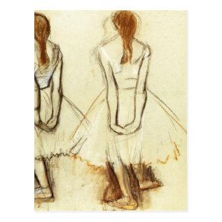 Edgar Degas : Étude pour le petit danseur Carte Postale