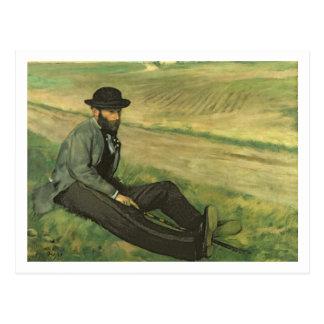 Edgar Degas | Eugene Manet Carte Postale