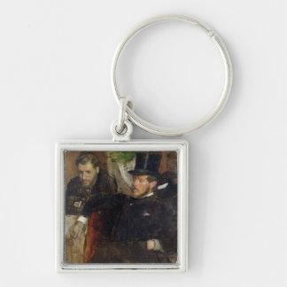 Edgar Degas | Jeantaud, Linet et Laine, 1871 Porte-clés