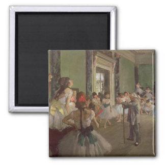 Edgar Degas   la classe de danse, c.1873-76 Aimant