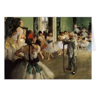 Edgar Degas La Classe de Danse Cartes