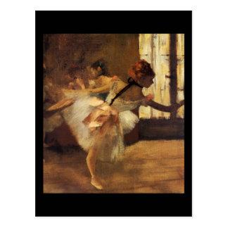 Edgar Degas La Répétition De Danse Carte Postale