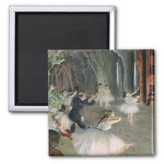 Edgar Degas   la répétition du ballet sur l'étape Aimant
