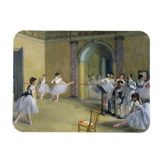 Edgar Degas   le foyer de danse à l'opéra Magnet Flexible