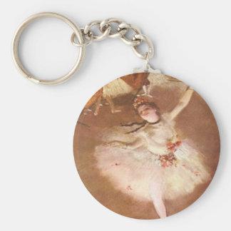 Edgar Degas le porte - clé d'étoile Porte-clés