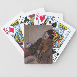 Edgar Degas : Le Violist Jeu De Poker