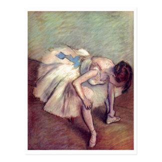 Edgar Degas - pastel 1881-83 de bout droit de ball