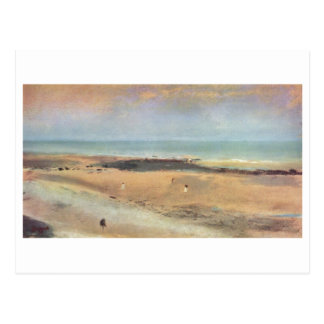 Edgar Degas - pastel de la marée basse 1869-70 de