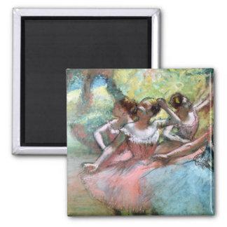 Edgar Degas   quatre ballerines sur l'étape Aimant