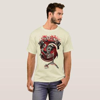 Édition de Ltd : T-shirt de crâne de concepteur