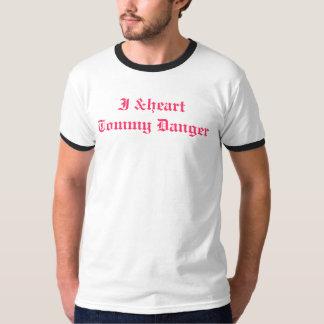 Édition de Myspace de danger de Tommy du &heart I T-shirts
