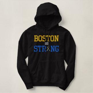 Édition forte de ruban de Boston Pull À Capuche Brodé