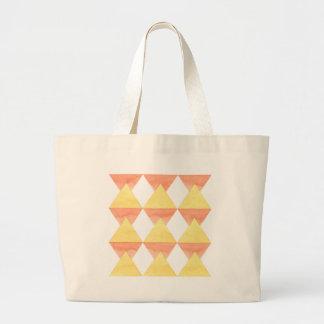 Édition jaune de conception de blocs exotique grand sac