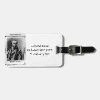 Edmond Dédé Étiquette À Bagage