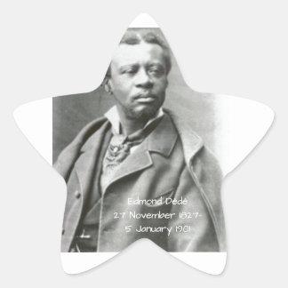 Edmond Dédé Sticker Étoile