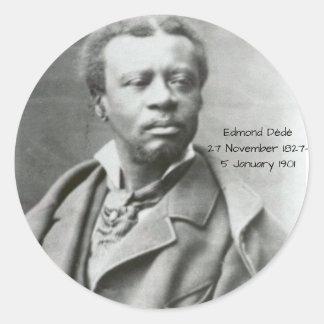 Edmond Dédé Sticker Rond