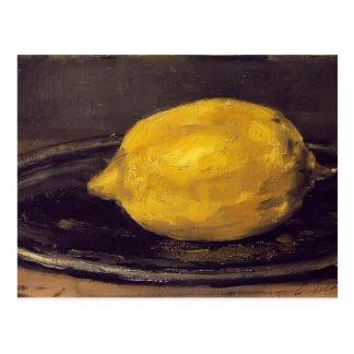 Edouard Manet- le citron Carte Postale