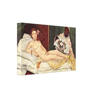 Edouard Manet - Olympia Toiles