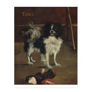 Edouard Manet- Tama la carte postale japonaise de