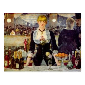 Edouard Manet - une barre à la carte de