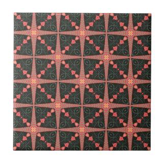 Édredon d'art populaire petit carreau carré