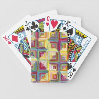 édredon de cabine de rondin jeu de cartes