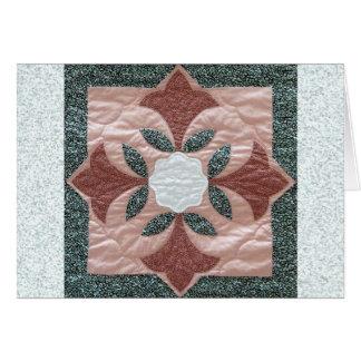 Édredon de fleur de Lotus Cartes De Vœux