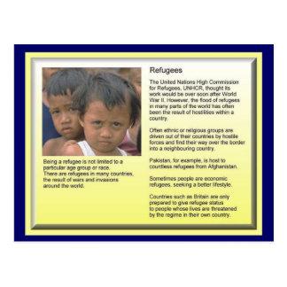 Éducation, citoyenneté, réfugiés, rôle d'UNHCR Carte Postale