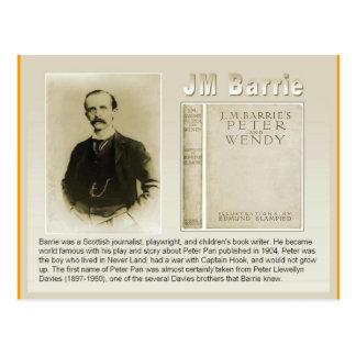 Éducation, littérature, JM Barrie, Peter Pan Cartes Postales